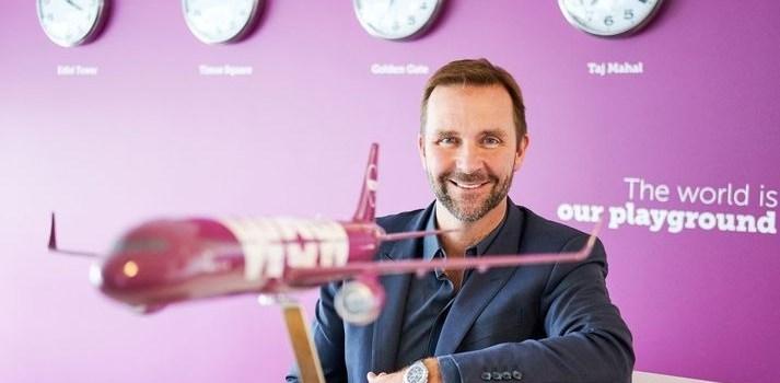 Skuli Mogensen, fondatore e presidente di WOW air