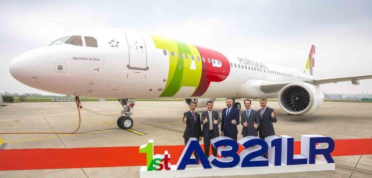Consegna a TAP del primo Airbus A321 LR
