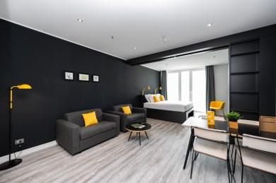 Staycity Mestre - monolocale con sala da pranzo e divano letto