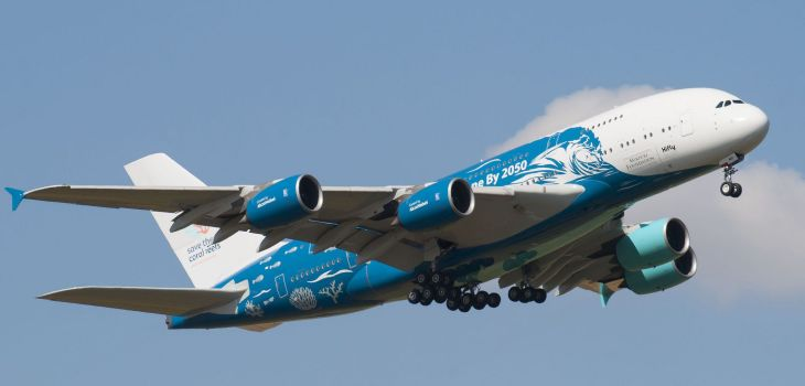 Airbus A380 Hy-Fly