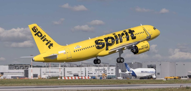 Airbus A320neo Spirit Airlines