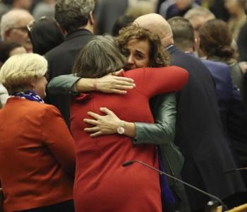 BREXIT- I parlamentari UK in Europa nel giorno dell'ultima seduta con la presenza del Regno Unito