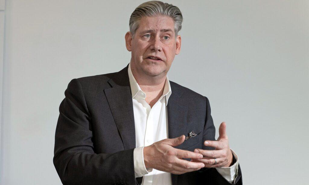 Johan Lundgren CEO di easyJet