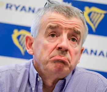 Michael O'Leary CEO Ryanair