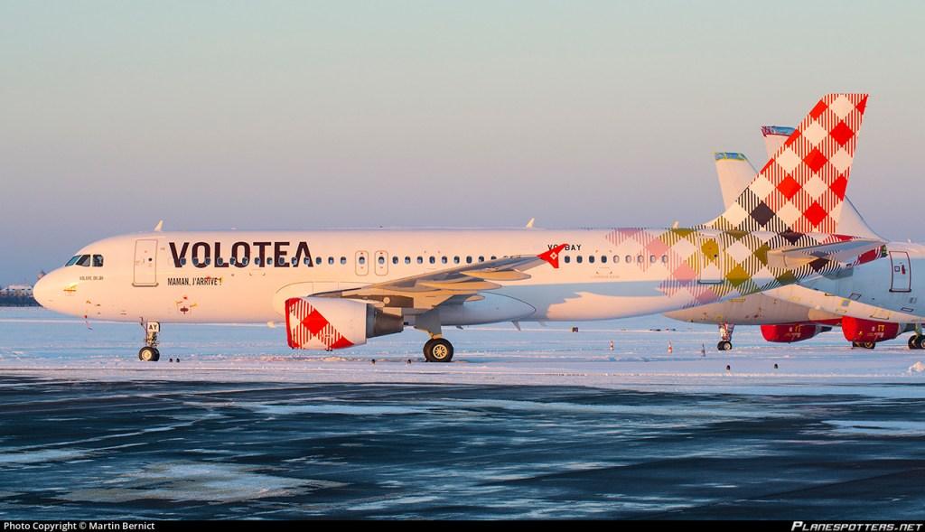 Airbus A320 VQ-BAY Volotea Ostrava Mosnov (OSR / LKMT)