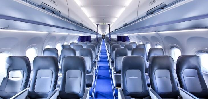 Airspace Cabin Airbus Lufthansa veduta cabina