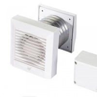Low Voltage Bathroom Extractor Fan with Humidistat & Timer ...