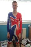 Gordon (Team GB Lycra cycling skinsuit  19-05-2014)