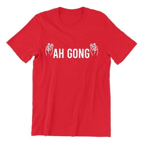 Ah Gong Crew Neck S-Sleeve T-shirt