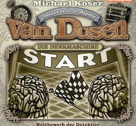 "Professor Dr. Dr. Dr. Augustus Van Dusen:  ""Wettbewerb der Detektive"" - Episode 8 (Folgenreich/ Universal Music Family Entertainment)"