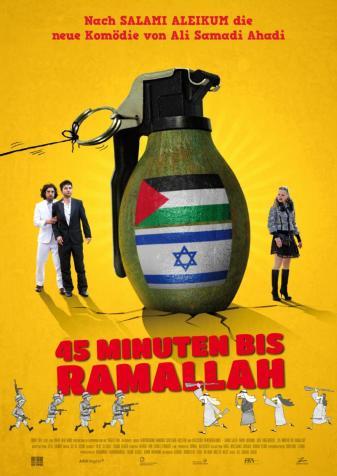 45-Minuten-bis-Ramallah-DE-Poster