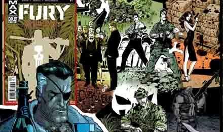 FURY: Operation Barracuda - Ennis/Parlov (MAX Comics/Panini Comics)