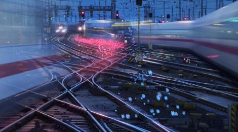 #Digitale Schiene Deutschland (Werbung)