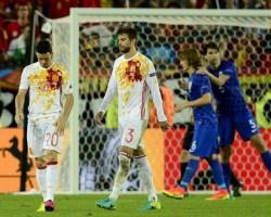 Girone D: Croazia prima. La Spagna sarà la prossima avversaria dell'Italia agli ottavi.