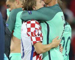 Portogallo ai quarti, saudade croata
