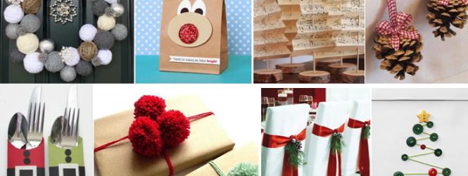 Natale, idee originali per addobbi fai da te