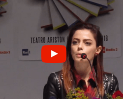 "[VIDEO] Sanremo 2018, Annalisa: ""Non mi sento una BIG"""