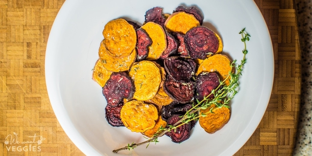 Beet & Sweet Potato Chips