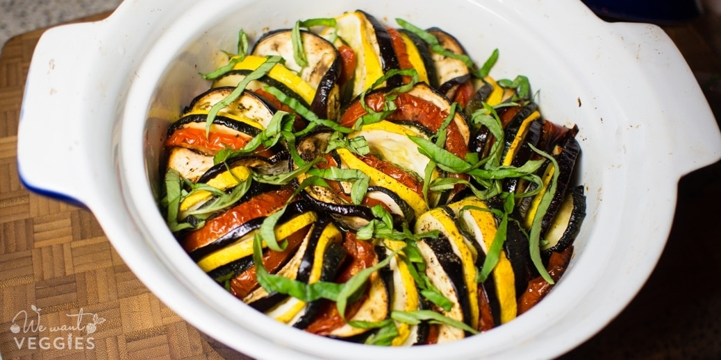 French Vegetable Tian With Summer Squash