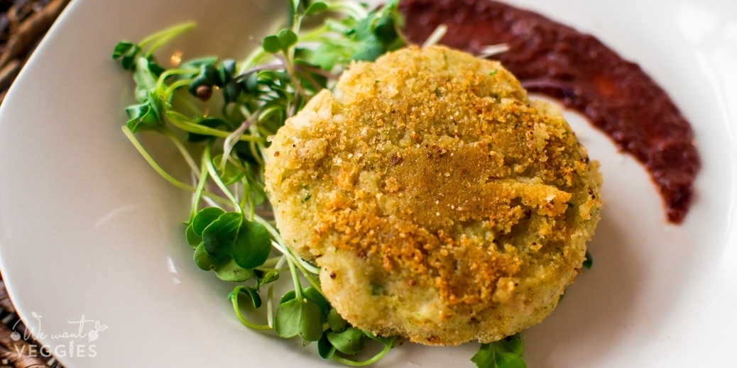 White Bean Patties With Fresh Herbs