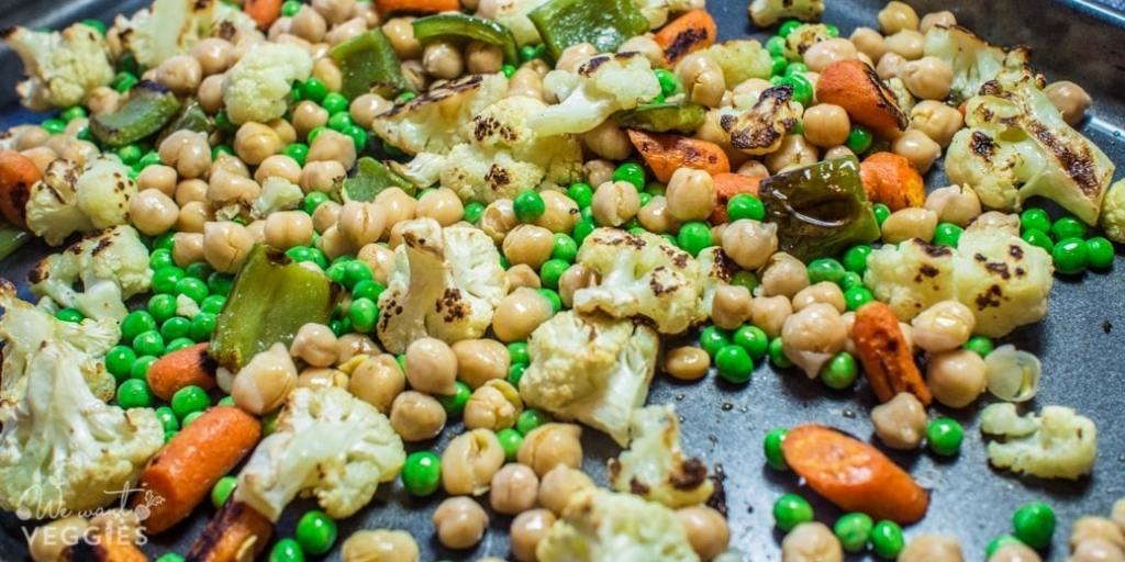 Sheet Pan Manchurian Vegetables - Step 2