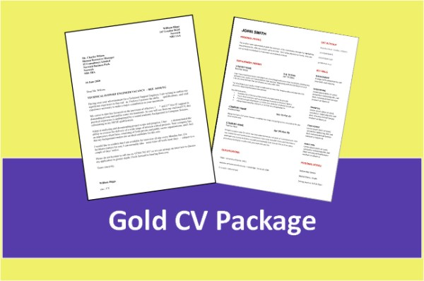 gold cv package