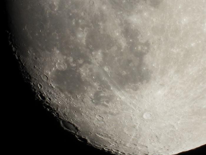 Nikon Coolpix P1000 Digital Camera moon sample image