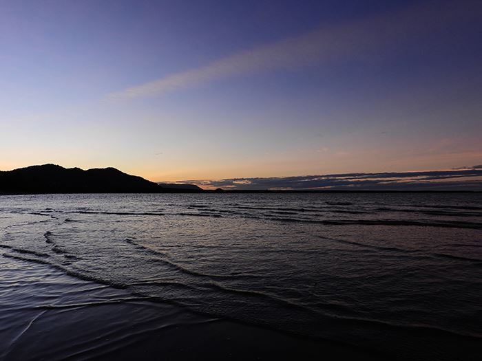 Nikon Coolpix P1000 Digital Camera sunset landscape sample image