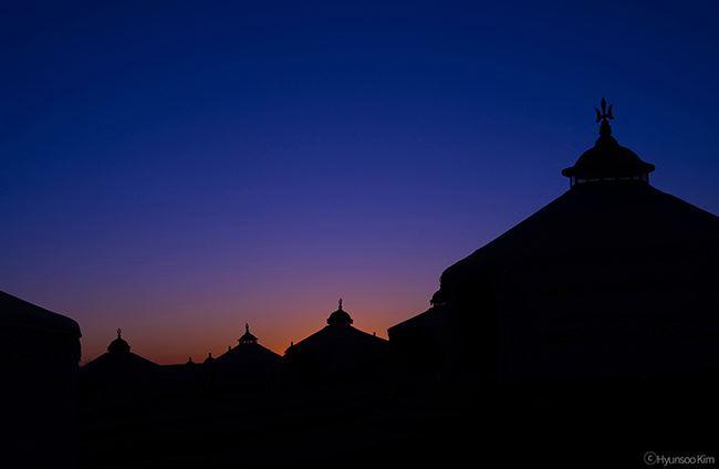 Samyang 50mm f1.4 AF Lens sample night time sunset image