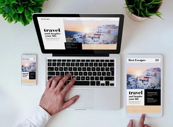 Responsive web design company in Surrey