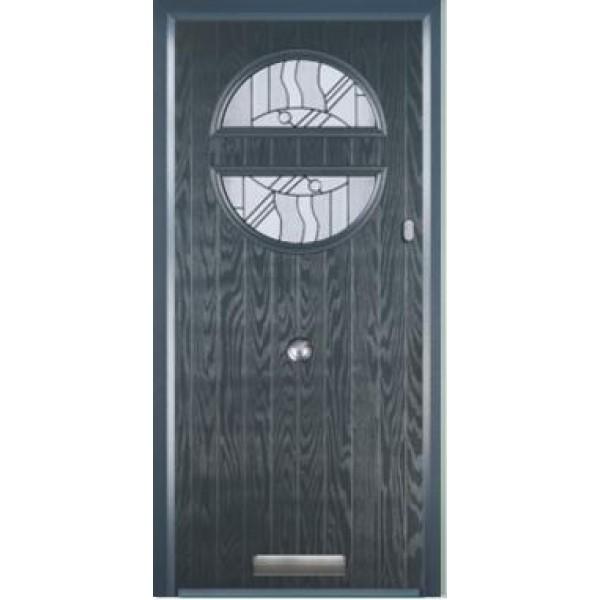 Door Stop Circle Classic Hardware Composite Door