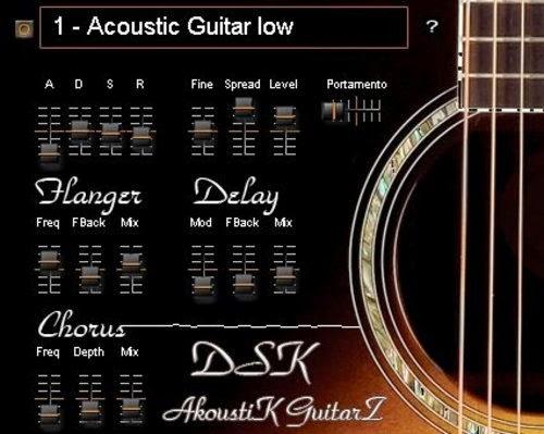 Download DSK AkoustiK GuitarZ Vst Win and Mac