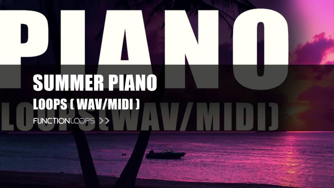 Download Summer Piano Samples Pack MIDI Loops