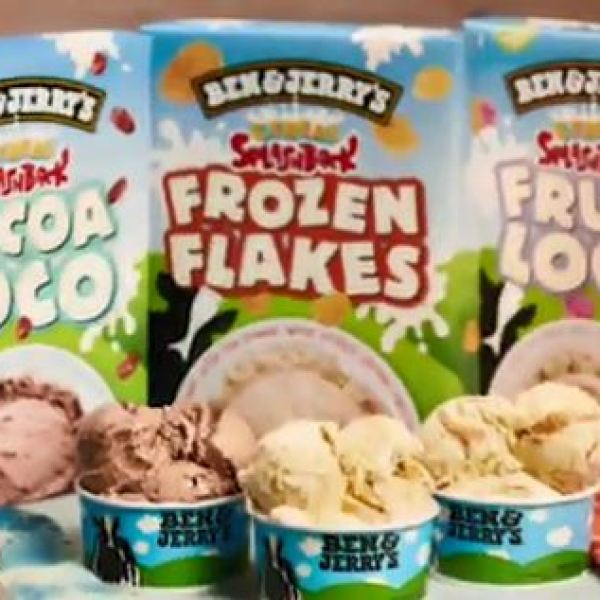 Ben and Jerry's cereal flavored ice cream_315528