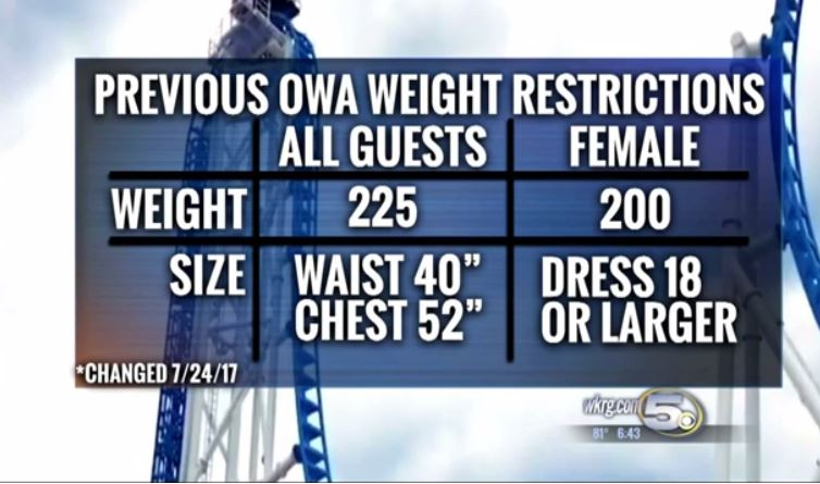 owa weight restrictions_412269