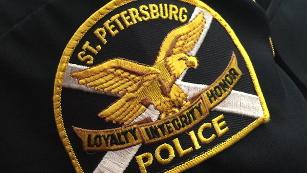 St. Petersburg Police Badge Logo Crest_176775