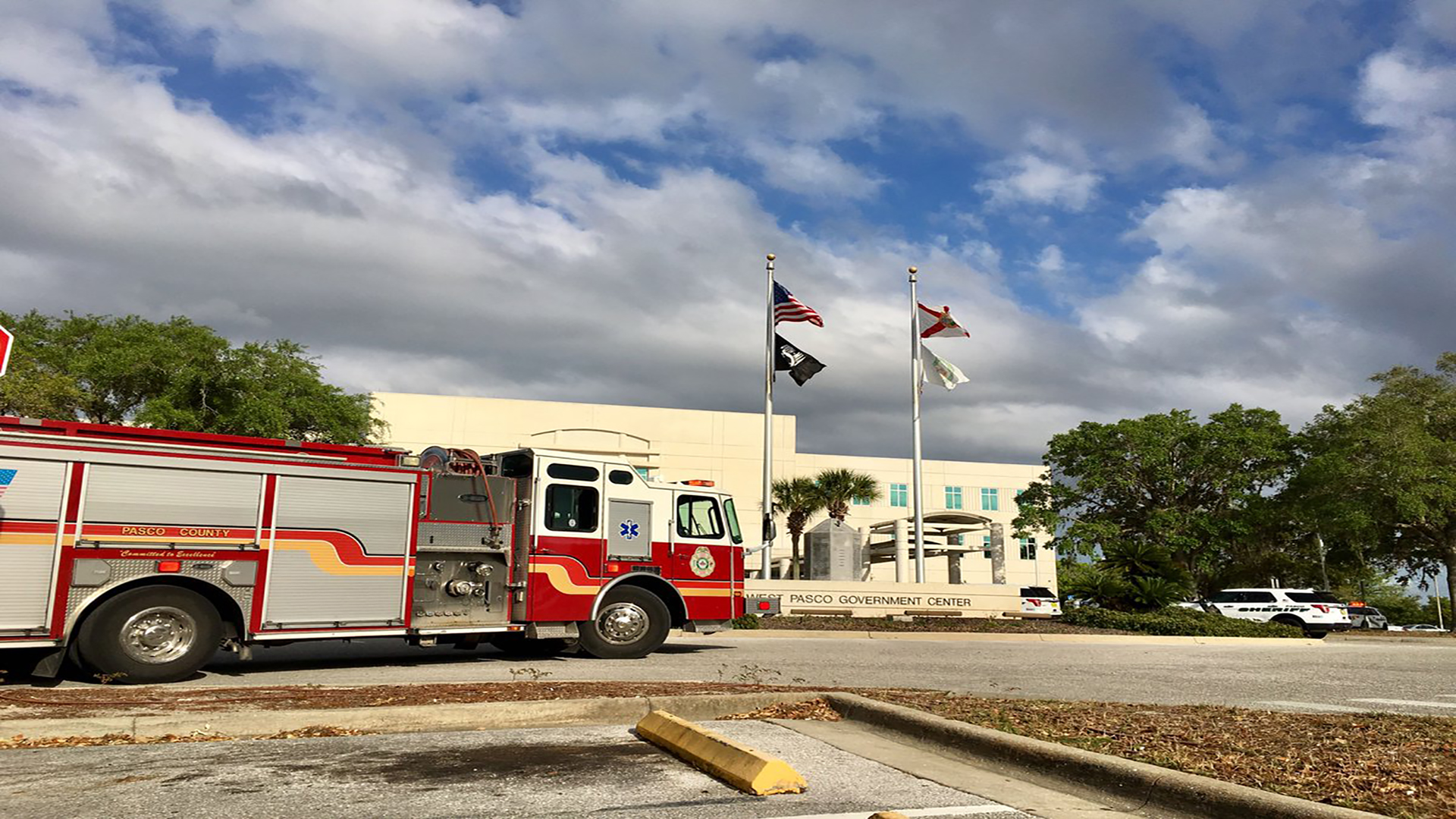 Surprising West Pasco Government Center Evacuated Due To Possible Home Remodeling Inspirations Propsscottssportslandcom