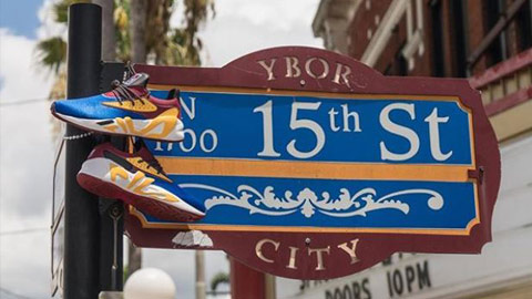 Ybor themed sneakers to hit shelves this weekend