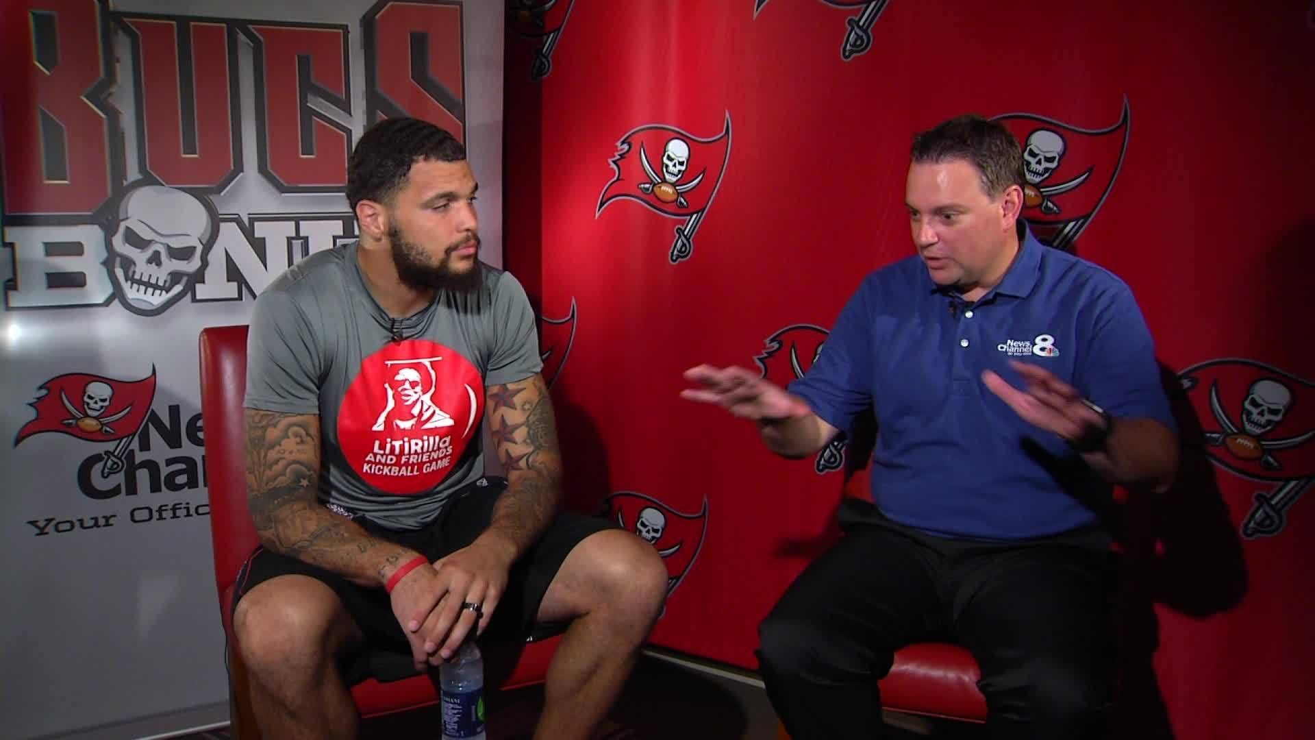 Mike Evans Interview