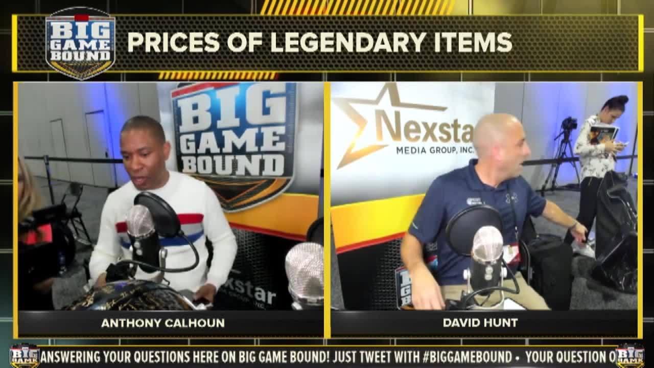 Big Game Memorabilia: Helmet signed by 111 HOF legends could fetch top dollar