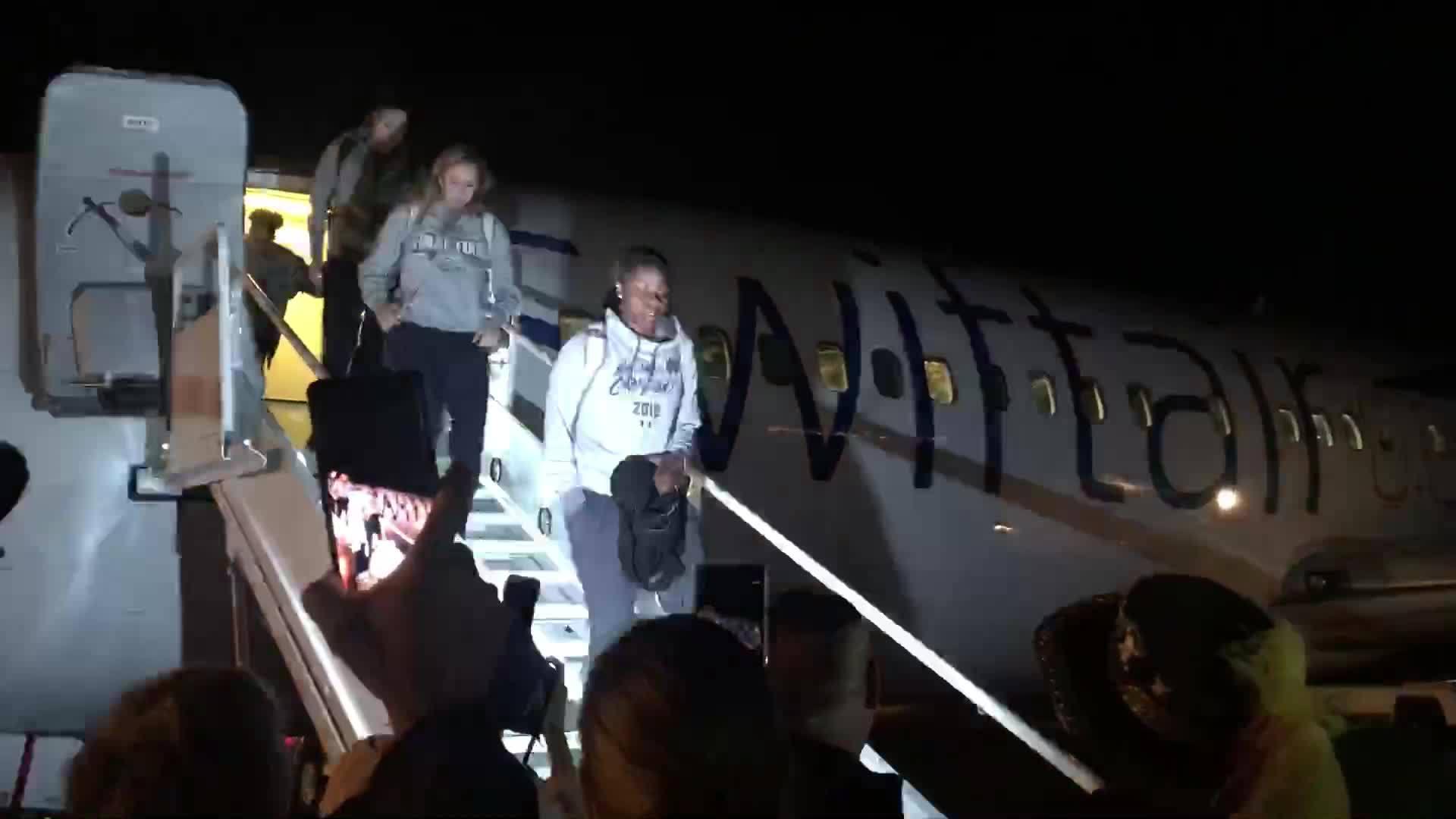 Notre Dame arrive ahead of Women's Final 4 in Tampa