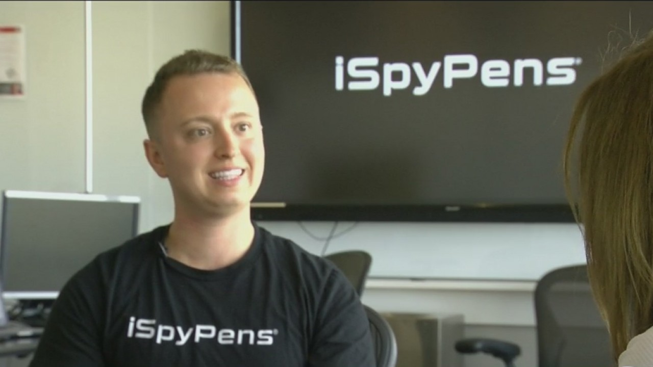 University of Tampa student invents #1 spy pen