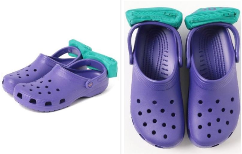 CROCS WITH FANNY PACKS ON THEM-846653543