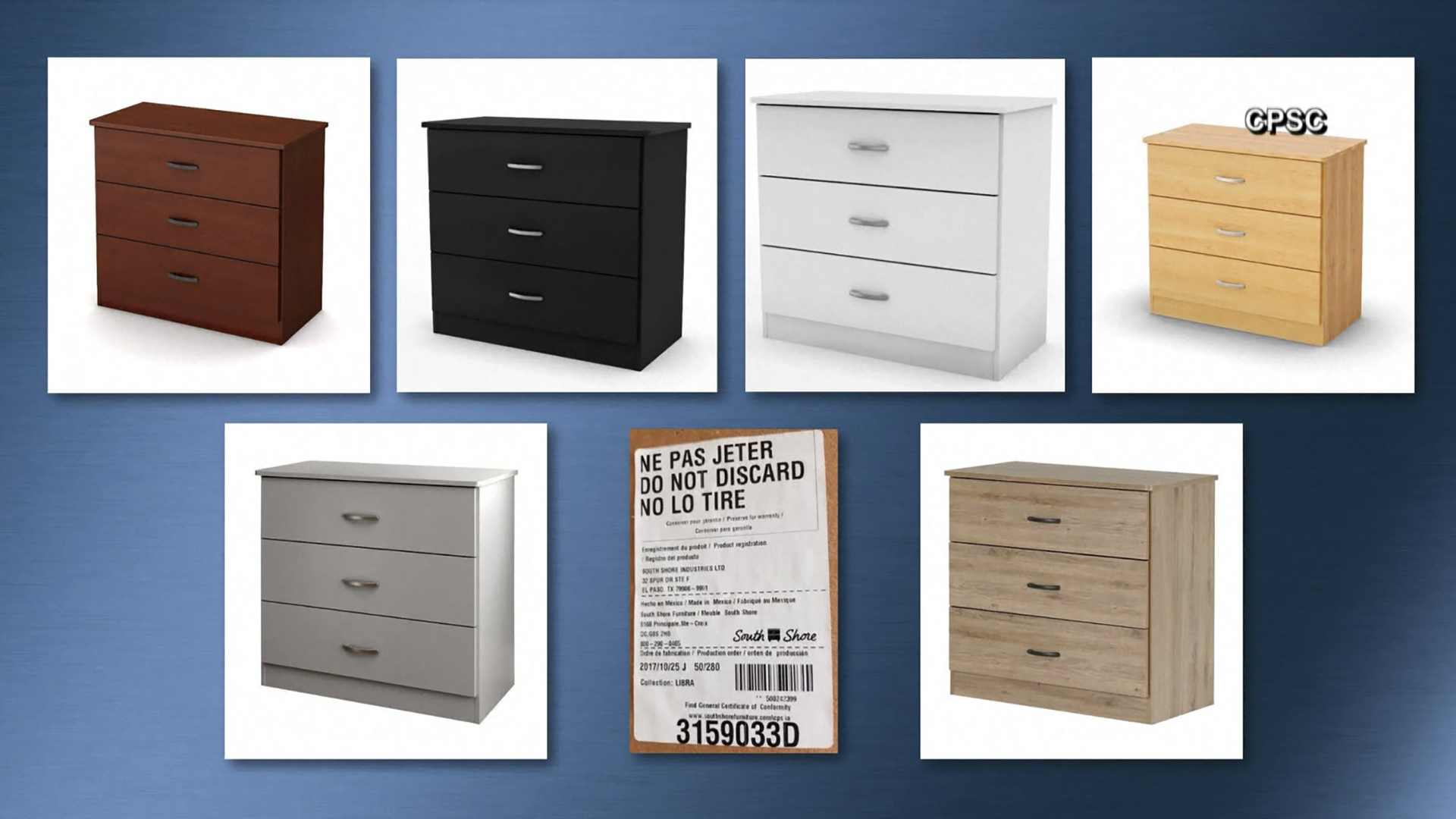 6032997f South Shore Furniture recalling more than 300,000 chests due to ...