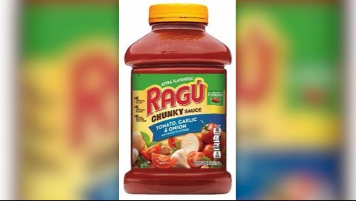 Ragu Pasta Sauce Recalled Due To Plastic Threat Wfla