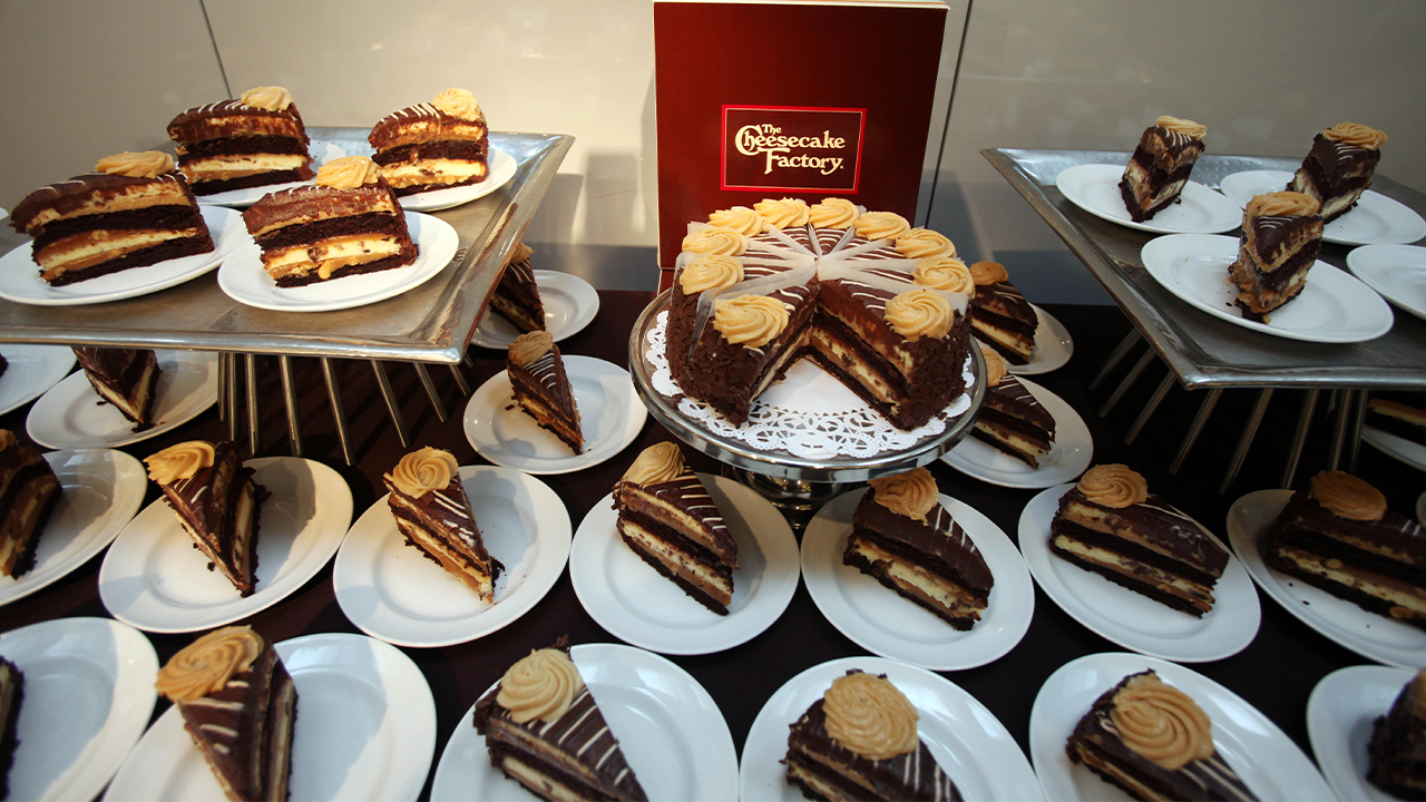 Cheesecake Factory celebrating National Cheesecake Day with