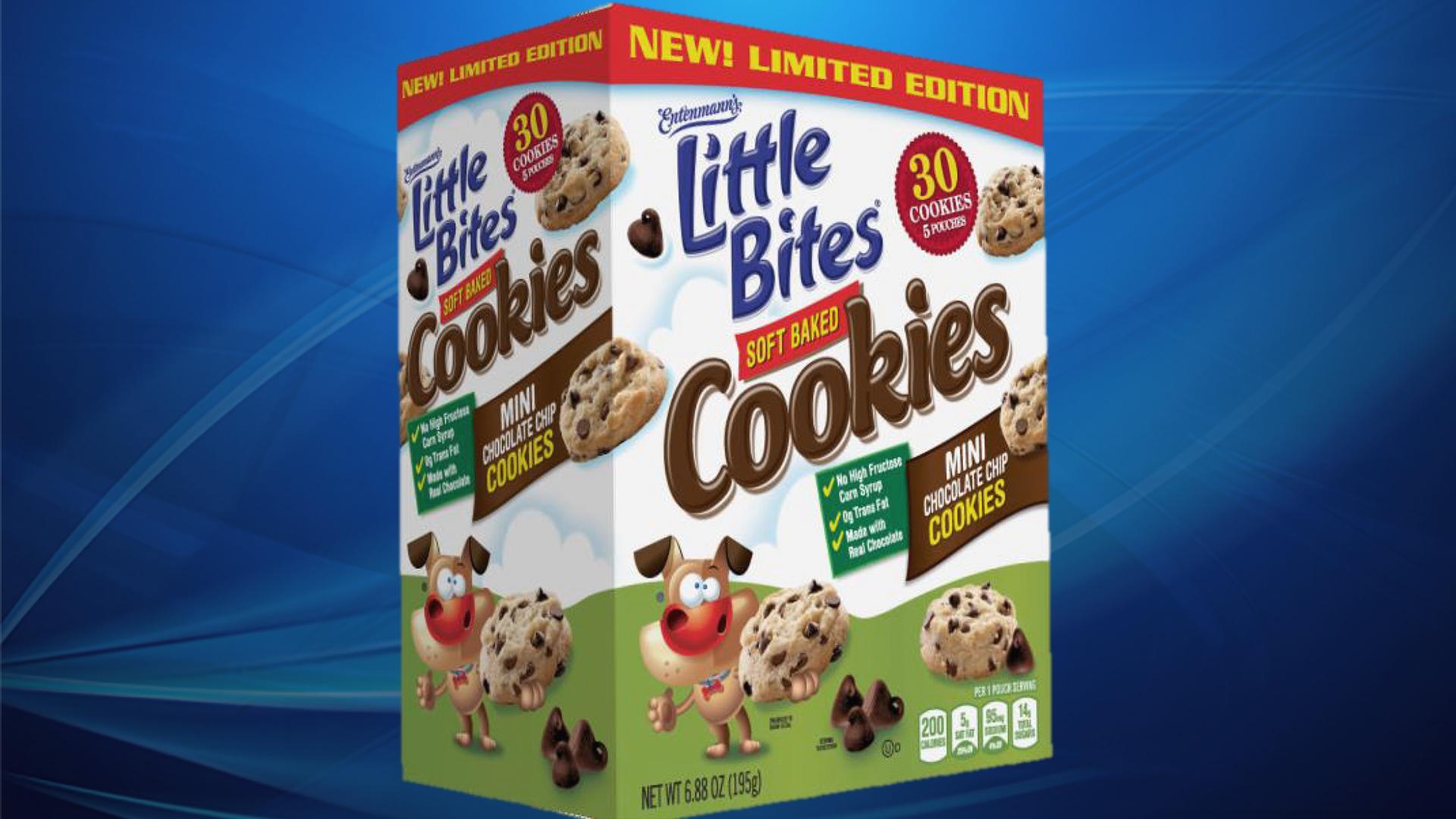 Entenmann's Little Bites cookies recalled due to blue plastic