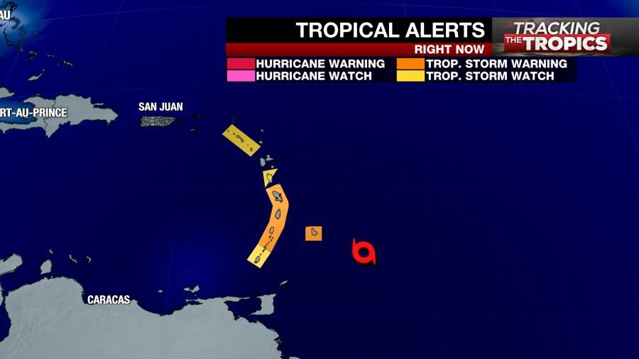 tracking the tropics dorian