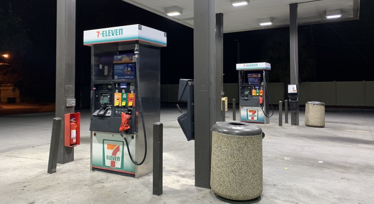Gas stations bag pumps, water flies off shelves as Dorian nears Florida