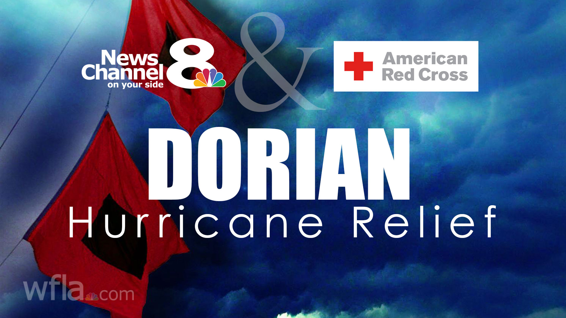News Channel 8, Red Cross raise money for Dorian victims | WFLA